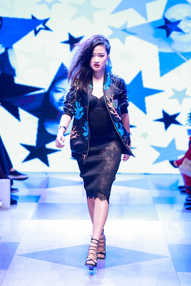 Thanh Hằng diện váy làm từ 25m vải lên sàn diễn của Adrian Anh Tuấn - Ảnh 18.