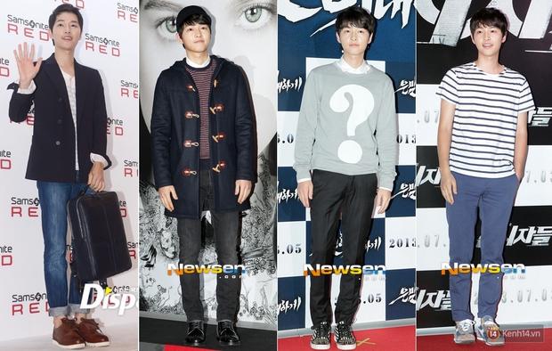 Mấu chốt phong cách giúp Song Joong Ki lột xác thành chàng quân nhân hớp hồn fan nữ - Ảnh 11.