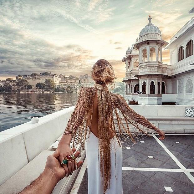 Clip: Để có được những bức ảnh tuyệt đẹp, cặp đôi Nắm tay em đi khắp thế gian đã vất vả như thế này đây - Ảnh 2.