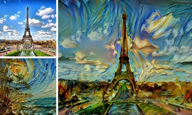 Những tác phẩm kết hợp kỳ diệu của nhiếp ảnh và hội họa - Ảnh 9.