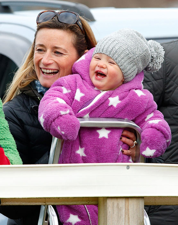 Mia Tindall - cô công chúa nhỏ đáng yêu của hoàng gia Anh - Ảnh 2.