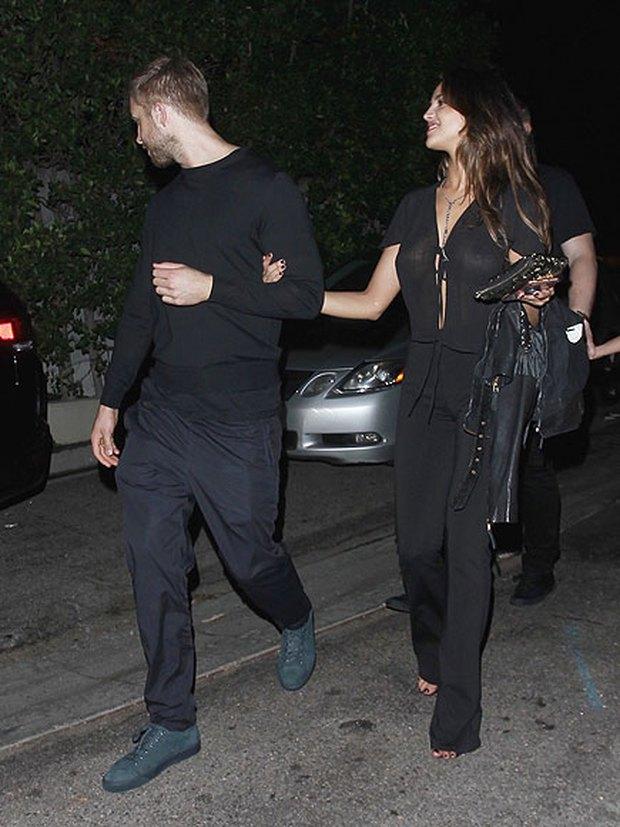 Calvin Harris lộ ảnh tay trong tay hẹn hò bạn gái cũ của Liam Hemsworth - Ảnh 1.