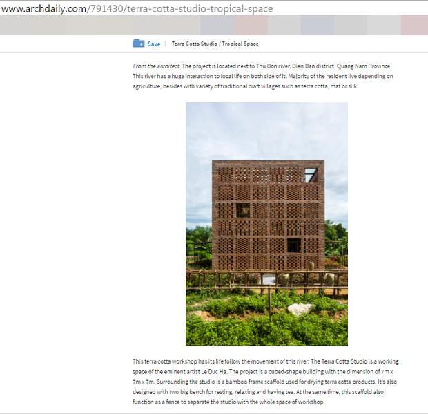 Chùm ảnh: Cận cảnh ngôi nhà 3 tầng bằng đất nung của nghệ nhân gốm Việt được lên báo Mỹ - Ảnh 1.