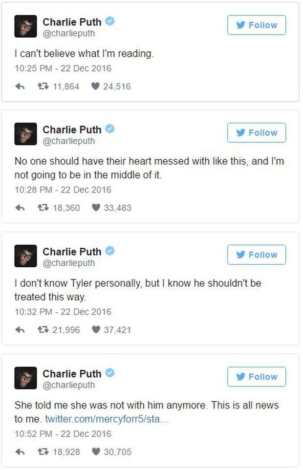 Charlie Puth chia tay Bella Thorne vì phát hiện bạn gái bắt cá hai tay - Ảnh 1.