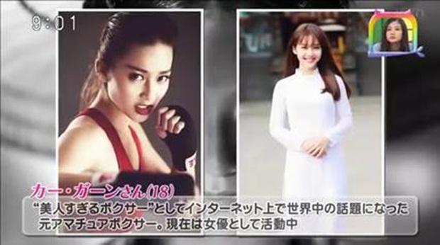Khả Ngân xuất hiện trên Đài truyền hình Nhật Bản, giới thiệu du lịch Việt Nam - Ảnh 3.