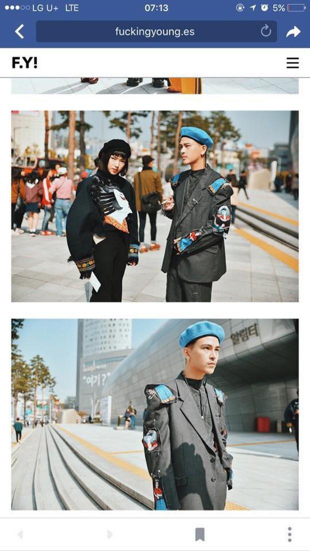 Sau 4 ngày, Châu Bùi & Cao Minh Thắng đánh chiếm đến cả chục mặt báo và blog thời trang! - Ảnh 8.