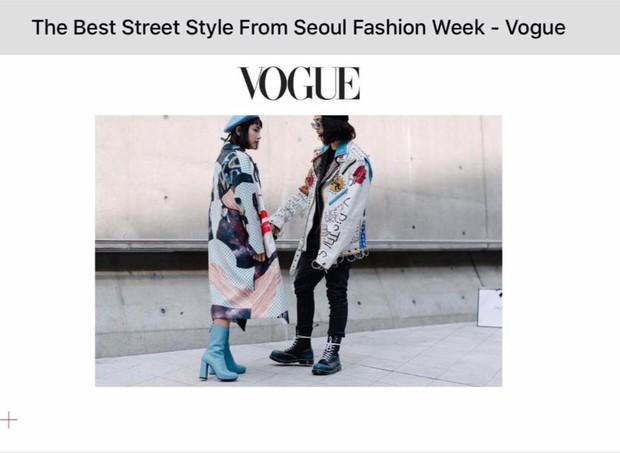 Sau 4 ngày, Châu Bùi & Cao Minh Thắng đánh chiếm đến cả chục mặt báo và blog thời trang! - Ảnh 1.