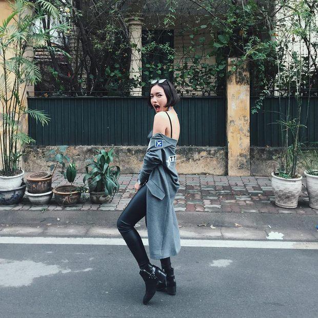 6 cô nàng hot girl Việt đang lăng xê tích cực phong cách gợi cảm - Ảnh 7.