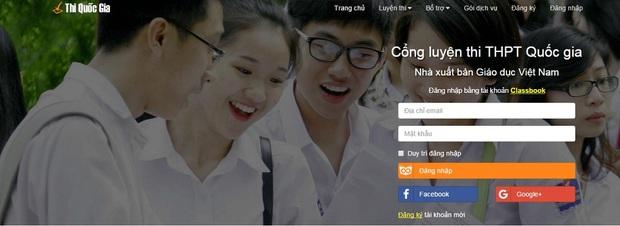 Tập thi Tốt nghiệp thử trên Cổng luyện thi của NXB Giáo Dục Việt Nam - Ảnh 1.
