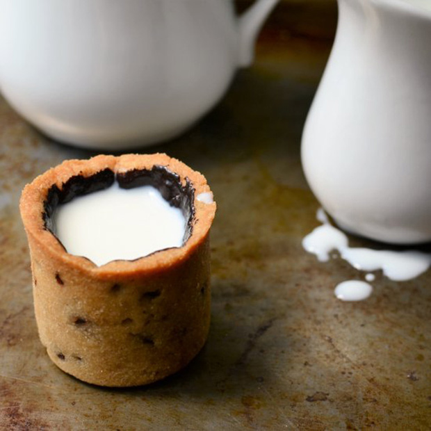 Uống sữa xong phải ăn luôn cả cốc thế này mới thích chứ! - Ảnh 9.