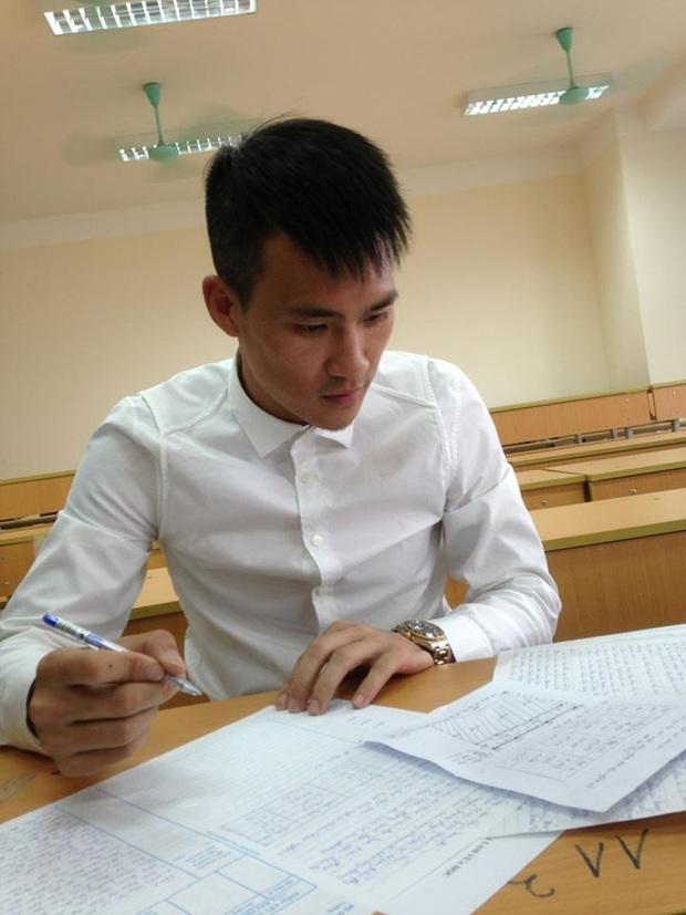 Công Vinh đỗ Đại học Luật với điểm số cao - Ảnh 1.