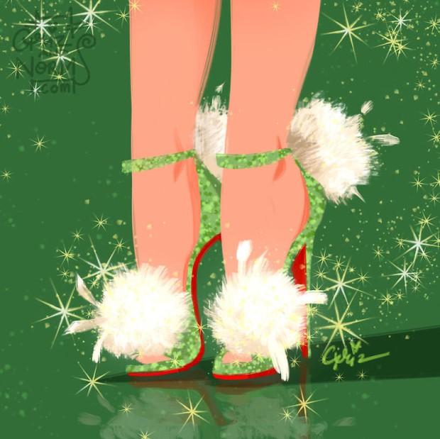 Bộ sưu tập giày hàng hiệu của các nàng công chúa Disney - Ảnh 10.