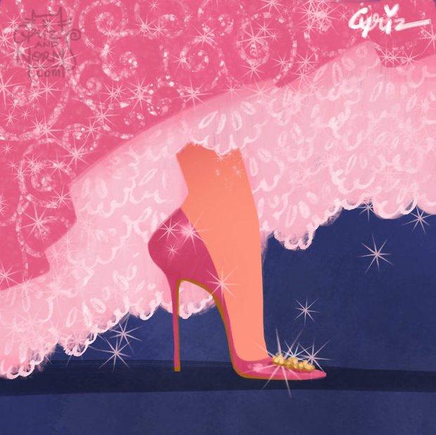 Bộ sưu tập giày hàng hiệu của các nàng công chúa Disney - Ảnh 15.