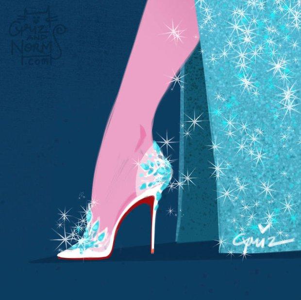 Bộ sưu tập giày hàng hiệu của các nàng công chúa Disney - Ảnh 2.