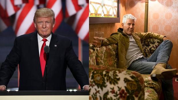 Đầu bếp ăn bún chả với Obama thề không ăn cùng Donald Trump - Ảnh 1.