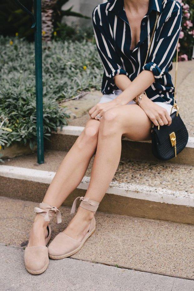 8 kiểu sandal đế bệt trendy nhất mùa hè này - Ảnh 29.