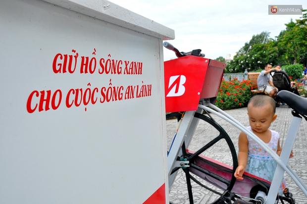 Người Sài Gòn hào hứng với máy tập thể dục kiêm lọc nước làm sạch kênh Nhiêu Lộc - Thị Nghè - Ảnh 11.