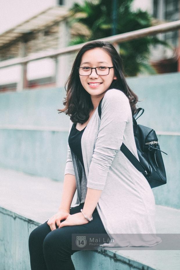 Phương Khanh: Nữ sinh trường Ams siêu nổi bật trong Ngày hội áo dài vì cười quá xinh - Ảnh 10.