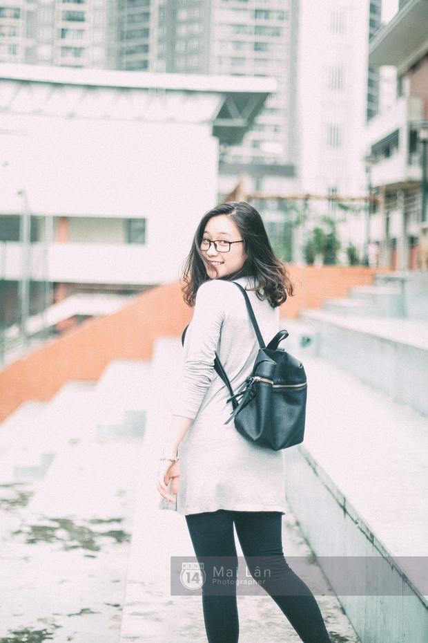 Phương Khanh: Nữ sinh trường Ams siêu nổi bật trong Ngày hội áo dài vì cười quá xinh - Ảnh 9.