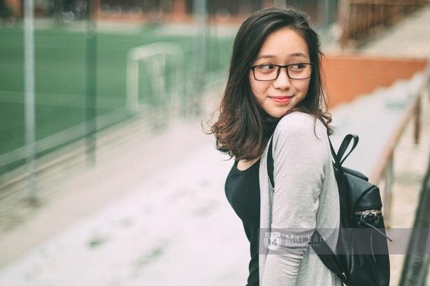 Phương Khanh: Nữ sinh trường Ams siêu nổi bật trong Ngày hội áo dài vì cười quá xinh - Ảnh 12.