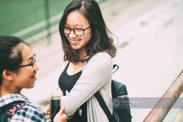 Phương Khanh: Nữ sinh trường Ams siêu nổi bật trong Ngày hội áo dài vì cười quá xinh - Ảnh 7.