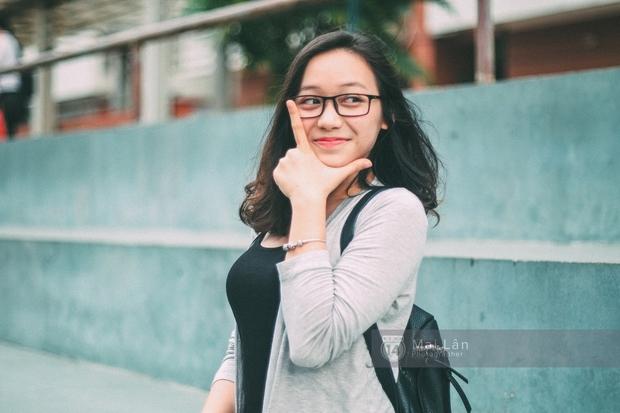 Phương Khanh: Nữ sinh trường Ams siêu nổi bật trong Ngày hội áo dài vì cười quá xinh - Ảnh 8.