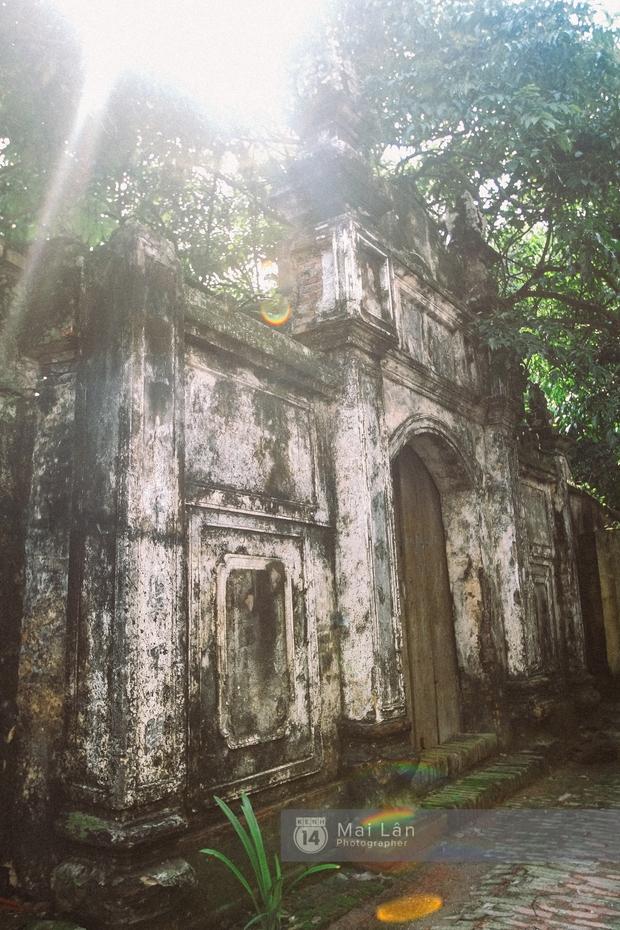 Ít ai biết ở gần Hà Nội có ngôi làng cổ hơn 200 năm tuổi, đẹp như tranh! - Ảnh 17.