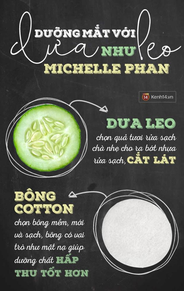 Học Michelle Phan cách trị mắt thâm quầng sưng húp rẻ bèo - Ảnh 1.