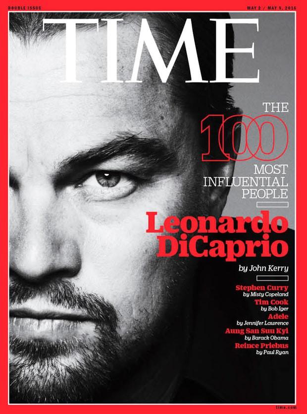 Leonardo DiCaprio được Time bình chọn là 1 trong những người có ảnh hưởng nhất hành tinh - Ảnh 1.