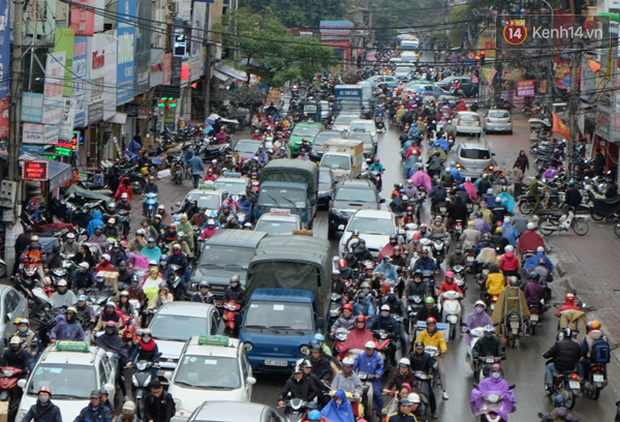 Ám ảnh tắc đường ở thủ đô những ngày giáp tết - Ảnh 5.