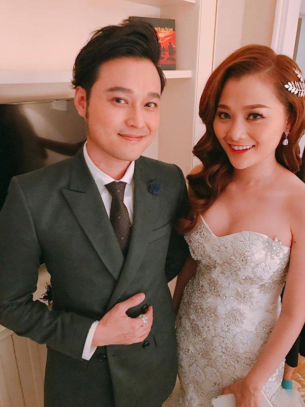 Quang Vinh vui mừng trong ngày cưới của cô em gái xinh đẹp như hoa - Ảnh 1.