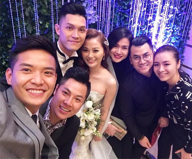 Quang Vinh vui mừng trong ngày cưới của cô em gái xinh đẹp như hoa - Ảnh 6.
