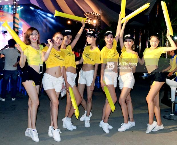 Hoa hậu Diễm Hương mong người hâm mộ tránh xa cá độ mùa Euro 2016 - Ảnh 1.