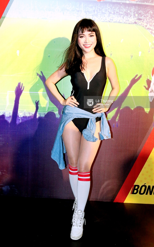 Hoa hậu Diễm Hương mong người hâm mộ tránh xa cá độ mùa Euro 2016 - Ảnh 8.