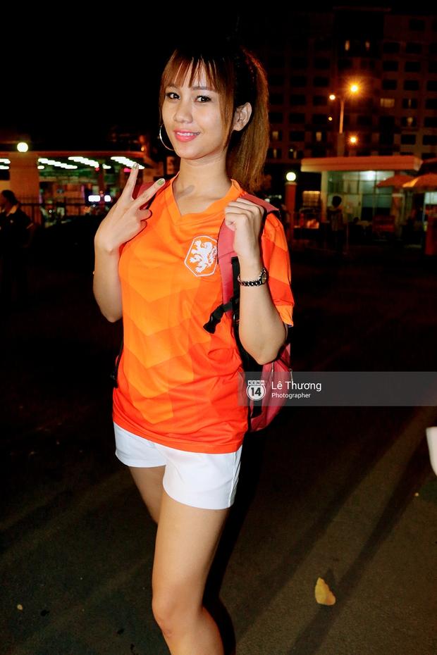 Hoa hậu Diễm Hương mong người hâm mộ tránh xa cá độ mùa Euro 2016 - Ảnh 6.