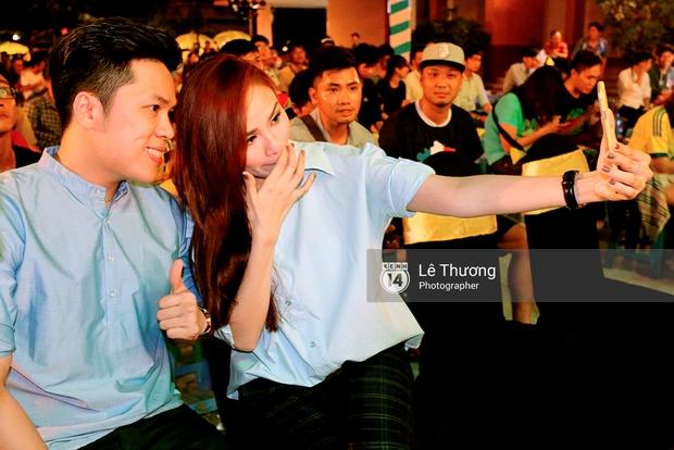 Hoa hậu Diễm Hương mong người hâm mộ tránh xa cá độ mùa Euro 2016 - Ảnh 4.