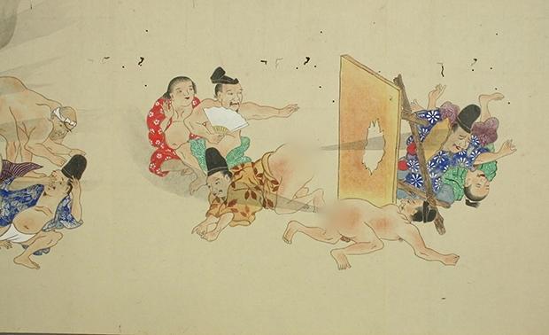 Thả bom nguyên tử - dòng tranh dân gian chế của Nhật Bản có thể bạn chưa biết - Ảnh 3.