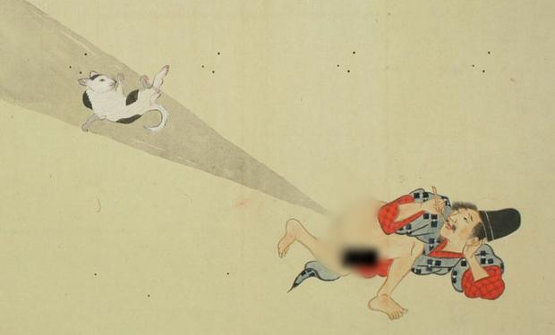 Thả bom nguyên tử - dòng tranh dân gian chế của Nhật Bản có thể bạn chưa biết - Ảnh 6.