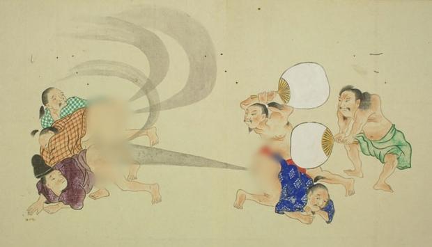 Thả bom nguyên tử - dòng tranh dân gian chế của Nhật Bản có thể bạn chưa biết - Ảnh 5.