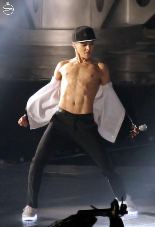 Những nghệ sĩ nam Hàn không thể ngừng phanh áo, khoe múi bụng săn chắc - Ảnh 20.