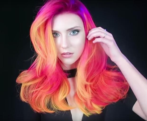 Mái tóc phát sáng thần kỳ giống công chúa Rapunzel - Ảnh 2.