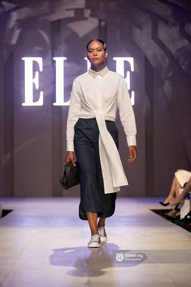 Phải nhập viện vào phút chót, Mai Ngô vẫn không bỏ lỡ cơ hội đọ trình catwalk với Phí Phương Anh trong Elle Fashion Show - Ảnh 38.