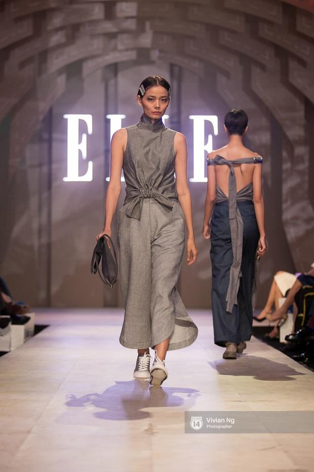 Phải nhập viện vào phút chót, Mai Ngô vẫn không bỏ lỡ cơ hội đọ trình catwalk với Phí Phương Anh trong Elle Fashion Show - Ảnh 42.