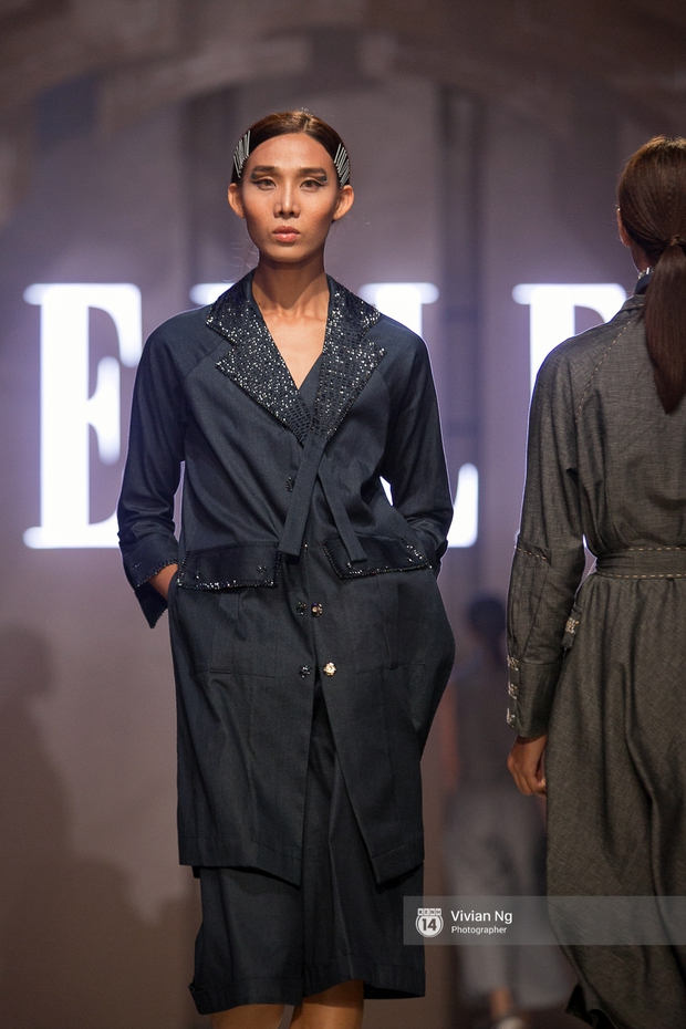 Phải nhập viện vào phút chót, Mai Ngô vẫn không bỏ lỡ cơ hội đọ trình catwalk với Phí Phương Anh trong Elle Fashion Show - Ảnh 45.