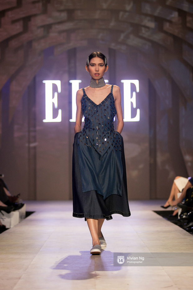 Phải nhập viện vào phút chót, Mai Ngô vẫn không bỏ lỡ cơ hội đọ trình catwalk với Phí Phương Anh trong Elle Fashion Show - Ảnh 46.