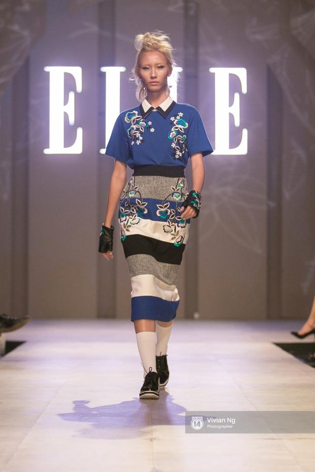 Phải nhập viện vào phút chót, Mai Ngô vẫn không bỏ lỡ cơ hội đọ trình catwalk với Phí Phương Anh trong Elle Fashion Show - Ảnh 51.