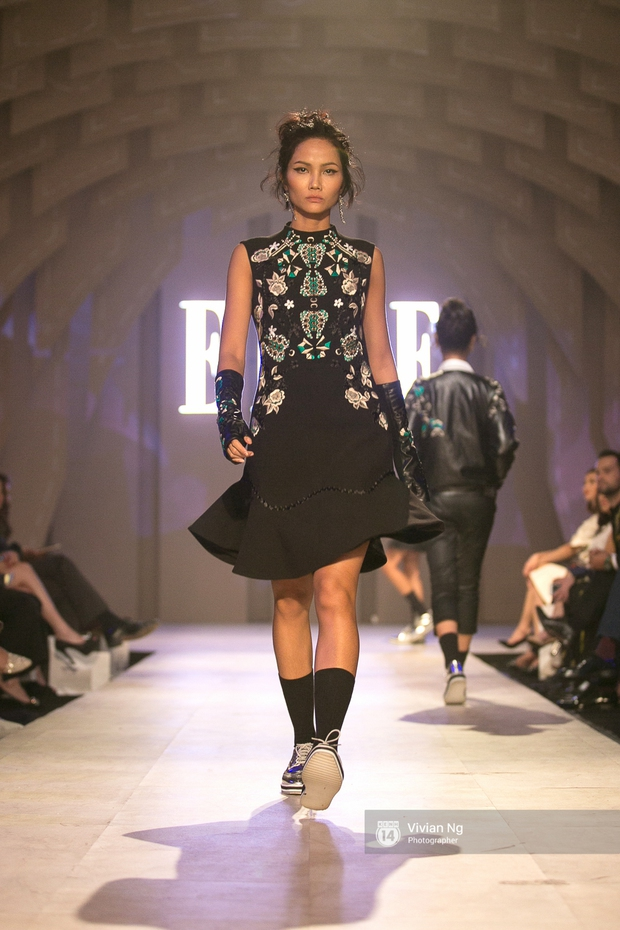 Phải nhập viện vào phút chót, Mai Ngô vẫn không bỏ lỡ cơ hội đọ trình catwalk với Phí Phương Anh trong Elle Fashion Show - Ảnh 56.