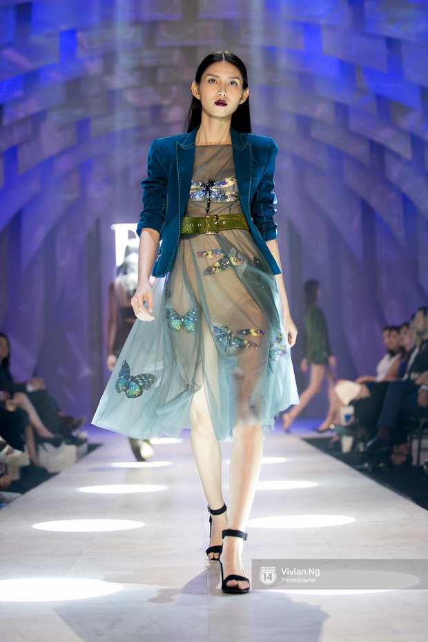 Phải nhập viện vào phút chót, Mai Ngô vẫn không bỏ lỡ cơ hội đọ trình catwalk với Phí Phương Anh trong Elle Fashion Show - Ảnh 16.