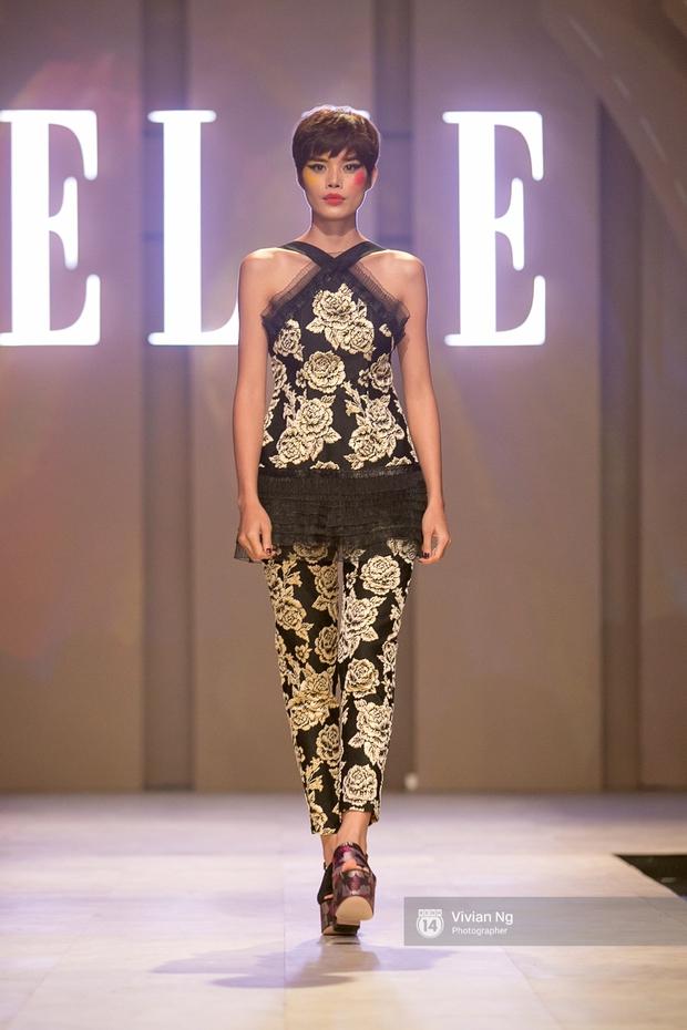 Phải nhập viện vào phút chót, Mai Ngô vẫn không bỏ lỡ cơ hội đọ trình catwalk với Phí Phương Anh trong Elle Fashion Show - Ảnh 28.