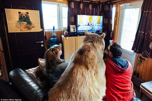 Thanh niên gấu 23 tuổi sống chung và làm việc nhà giúp đôi vợ chồng già - Ảnh 5.